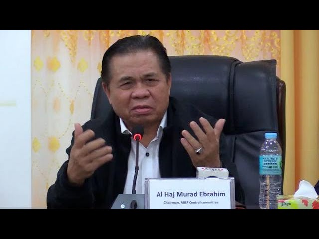 MILF chair hopeful BBL will pass to prevent extremism in region