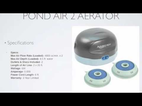 Aquascape Pond Air 2 Aerator