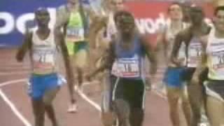 Antonio Reina 800m. Record de España San Sebastian