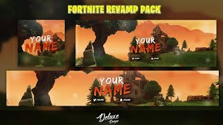 ✅FREE GFX: Fortnite Social Media Revamp Pack Template | Free Download | 2018