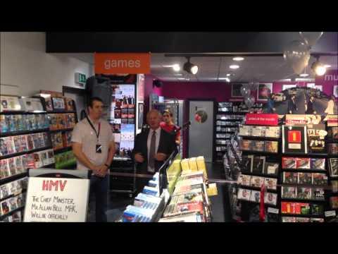 HMV Isle of Man Relaunch