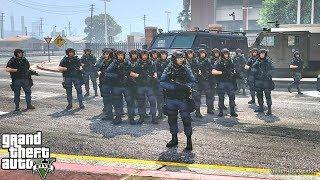 GTA 5 MODS LSPDFR 779 - SWAT PATROL !!! (GTA 5 REAL LIFE PC MOD)