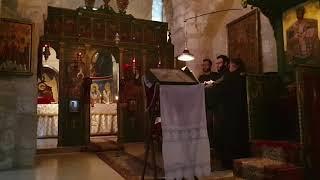 The Great Paraklesis @St Euthemius, Jerusalem #monasterylife