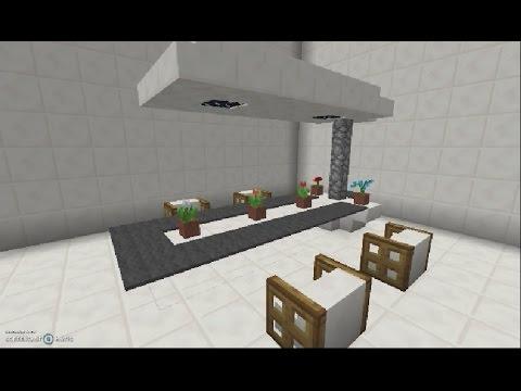 comment faire une salle manger minecraft