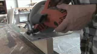 Using A Circular Saw : Circular Saw Notch Cuts