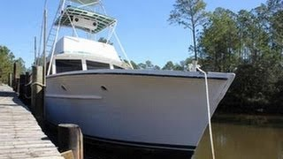[UNAVAILABLE] Used 1960 Haggard Boat Works 41 Custom Sportfish in Pass Christian, Mississippi