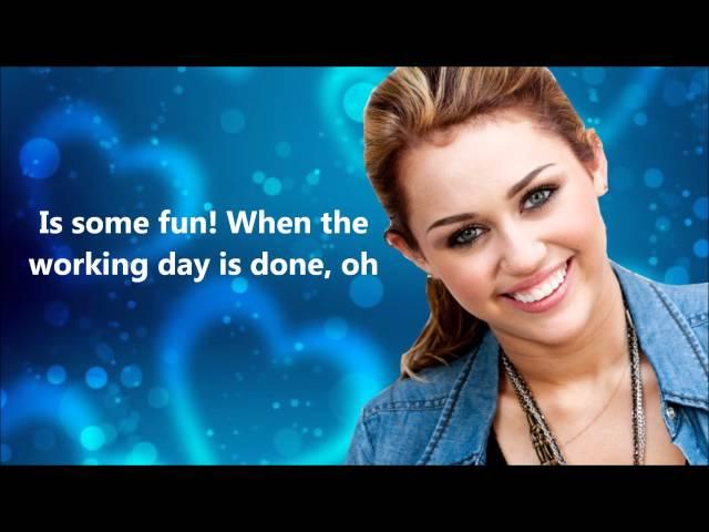 Miley Cyrus - Girls Just Wanna Have FunFULLHQ.