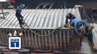 TPHCM: 3 thợ lặn mất tích khi đang trục vớt tàu