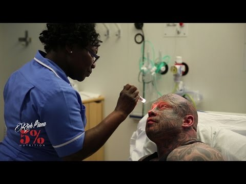 "Rich Piana Visits Jens ""The Beast"" Dalsgaard in the Hospital"
