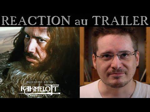 RÉACTION au  Trailer de KAAMELOTT - Premier Volet