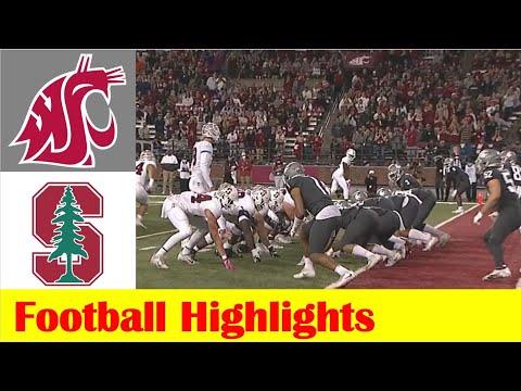 Stanford vs Washington State Football Game Highlights 10 16 2021