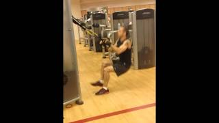 trx lateral reverse cross lunges to single leg squat variations