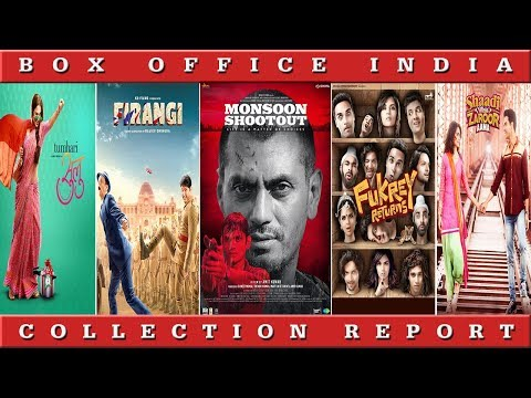 Box Office Collection Of Fukrey Returns, Monsoon Shootout, Firangi, Tumhari Sulu