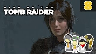 Rise of the Tomb Raider Episode 8: WILD ANIMALS & SIDE MISSIONS!!