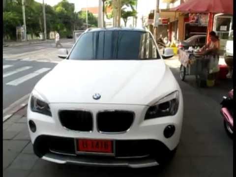 Autocar Wrap BMW X1 Matte White.mpg