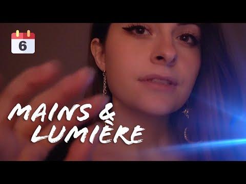 ASMR | du VISUEL pour t'endormir : hand mouvement & sound, lumière ... (Français)