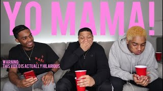 """You Laugh, You Lose.. """"YO MAMA"""" JOKES WITH WATER IN OUR MOUTHS‼️🤣 *you'll cry of laughter*😭"""