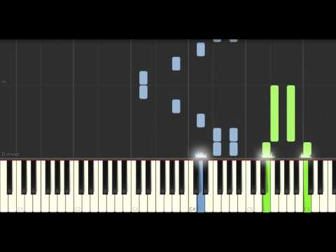Walking in the Air - The Snowman (Piano tutorial)