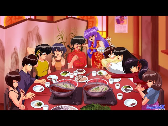 MegaPhilX Draws - Ranma 1/2 Moon Festival Hot Pot
