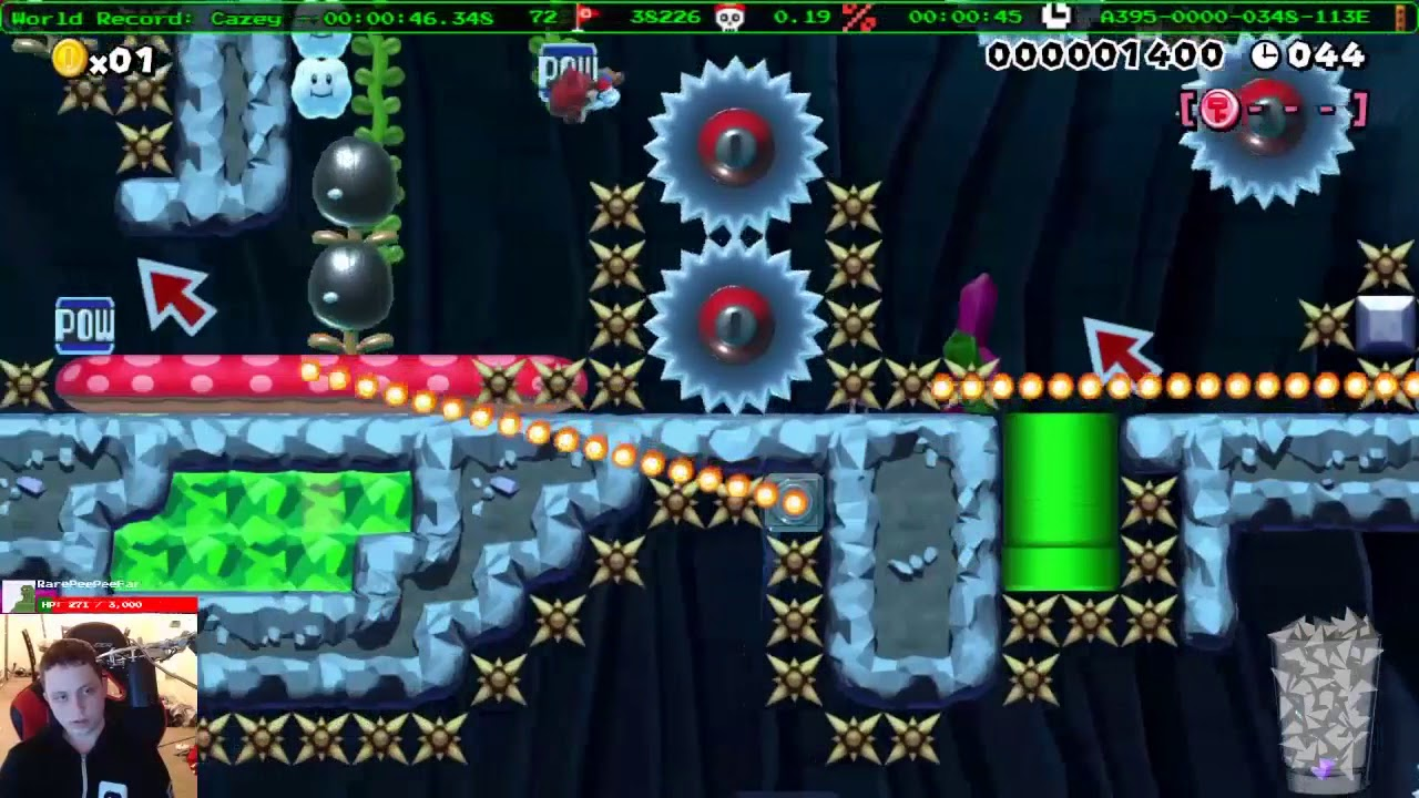 Super Mario Maker - Awesome levels Beast likes
