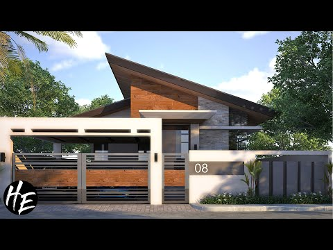 House Design Ideas l 3-Bedroom Modern Bungalow