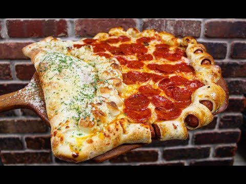 The Pat And Aaron Show - Triple Threat: Another Pizza Monstrosity Comes Out Of New Jersey