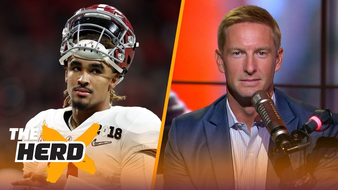 Joel Klatt on Jalen Hurts' QB frustrations, CFB playoff projections and more | CFB | THE HERD