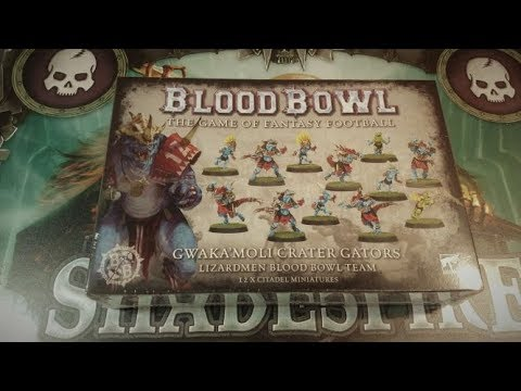 Blood Bowl Gwaka/'moli Crater Gators Singles