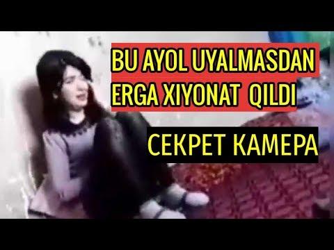ER AYOLNI OYNASHI BILAN USHLAB OLDI ( TOLIQ VIDEO)