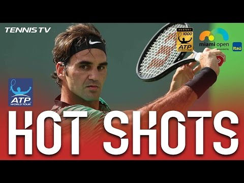 Hot Shot: Federer Bamboozles With Looping Backhand At Miami 2017