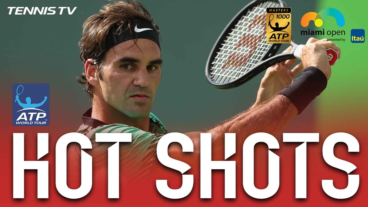 Hot Shot Federer Bamboozles With Looping Backhand At Miami 2017