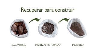 Reciclaje de Escombros (Aprovechamiento de RCD)