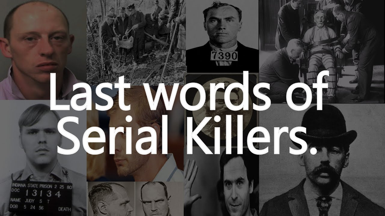 10 shocking executed Killers last words
