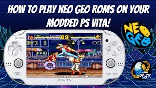 How To Play NEO GEO Roms On Your Modded PS Vita!