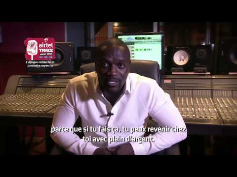 Akon t'invite à t'entrainer au Karaoke Airtel TRACE Music Star
