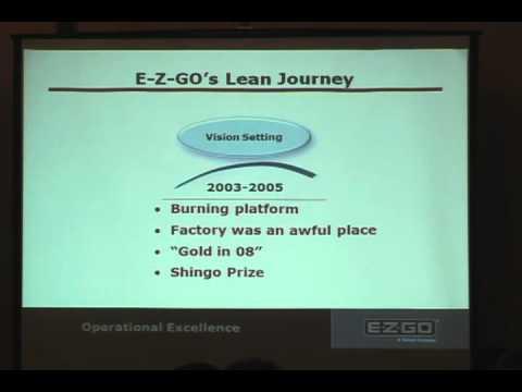 E-Z-GO's Lean Journey: Ronald W. Draper, E-Z-GO