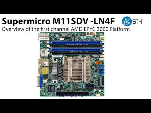 Supermicro M11SDV AMD EPYC 3000 Exclusive First Overview