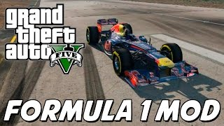 GTA V – Carro do Sebastian Vettel FORMULA 1 MOD