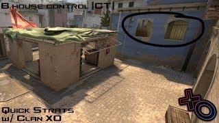 CSGO Quick Strats #1 - Mirage B House Control (CT)