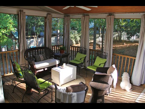 DIY Outdoor Curtains Enhance Your Outdoor Areas Significantly