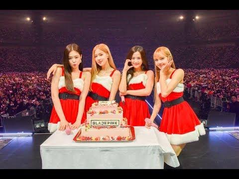 [HD] BLACKPINK Jingle Bell Rock + Kyocera Dome Osaka Performance By JIJI Press