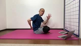 背骨調整と骨盤底筋(部分カット)