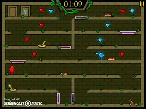 Fireboy and Watergirl in The Forest Temple - Two Player Games