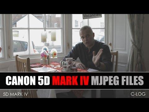 Canon EOS 5D Mark IV MJPEG Comparison