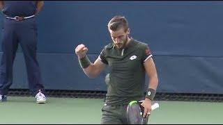 Elliot Benchetrit vs. D. Damir Džumhur | US Open 2019 R1 Highlights