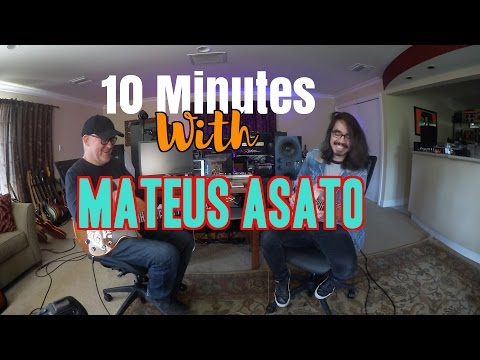 10 Minutes With Mateus Asato | Tim Pierce | Guitar Lesson