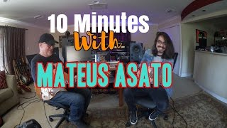 10 Minutes With Mateus Asato | Tim Pierce | Guitar Lesson