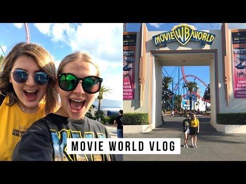 MOVIE WORLD VLOG || Actually Andrea