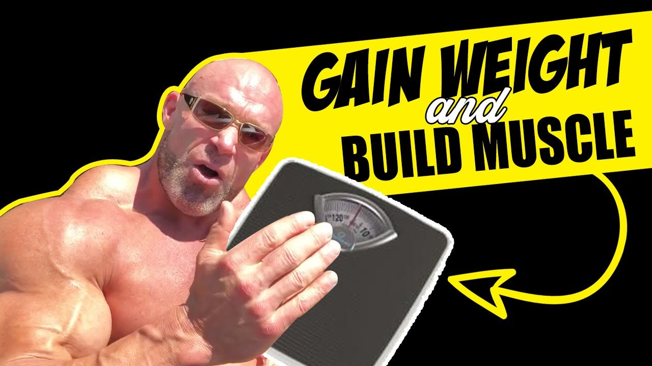 How to Gain Weight and Build Muscle FAST! (Carbs and Essential Fats) - YouTube