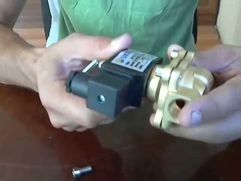Электромагнитный клапан прямого действия, нормально-закрытый 220V. Solenoid valve